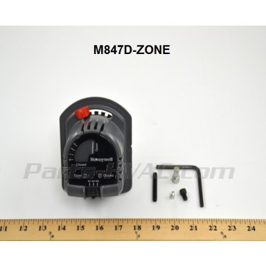 M847D-Zone 24v S/R Open Air Zoning Damper Actuator